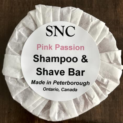 Pink Passion Shampoo & Shave Bar