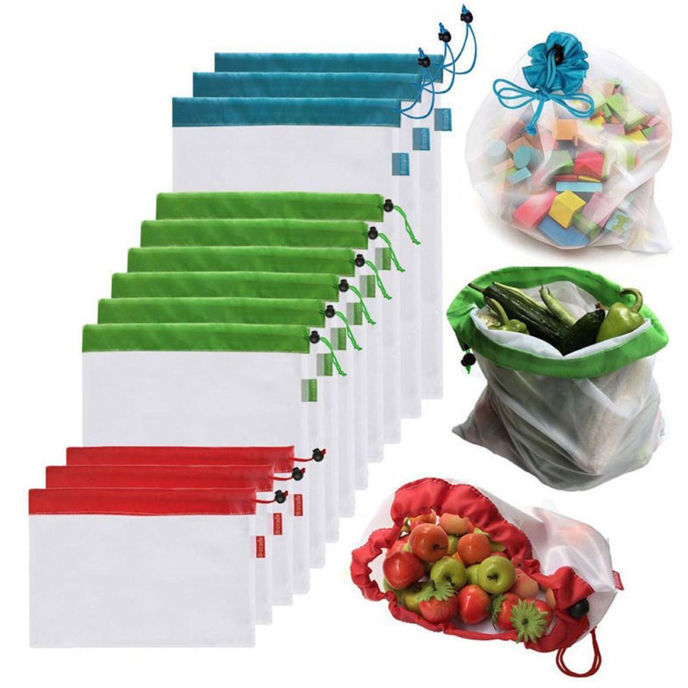 Reusable And Washable Produce Bags Another Ideal Shop Online 12pcs