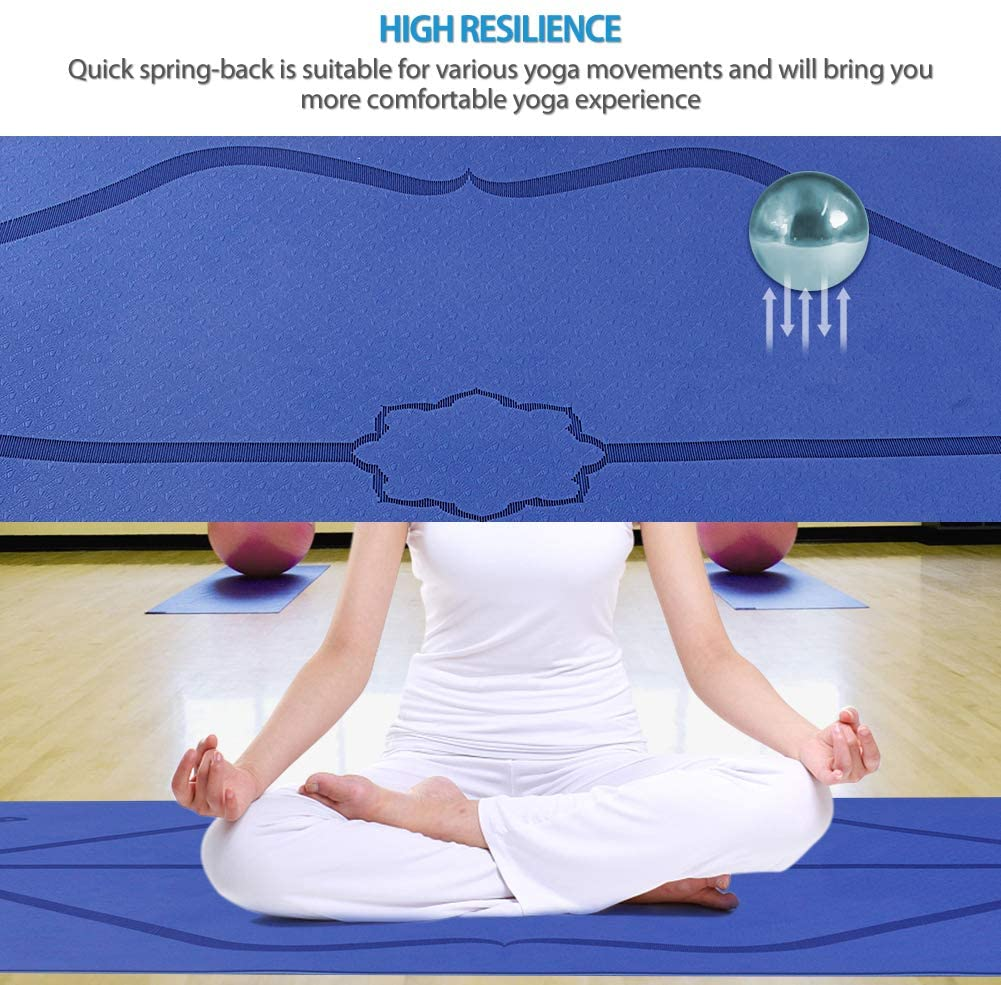 TPE Yoga Mat Non Slip Carpet my products Another Ideal Shop