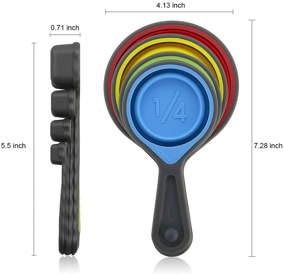 Collapsible Silicone Measuring Cup Another Ideal Shop