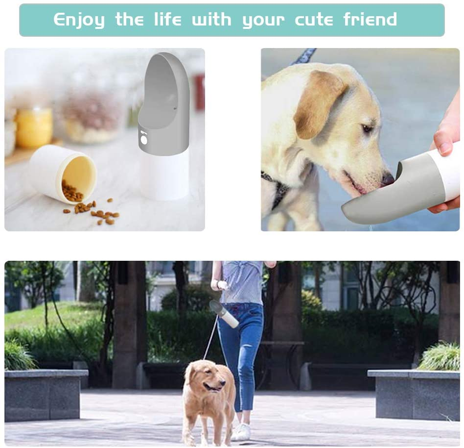 PORTABLE DOG WATER BOTTLE DISPENSER Smart Remote Control Mi homes Store