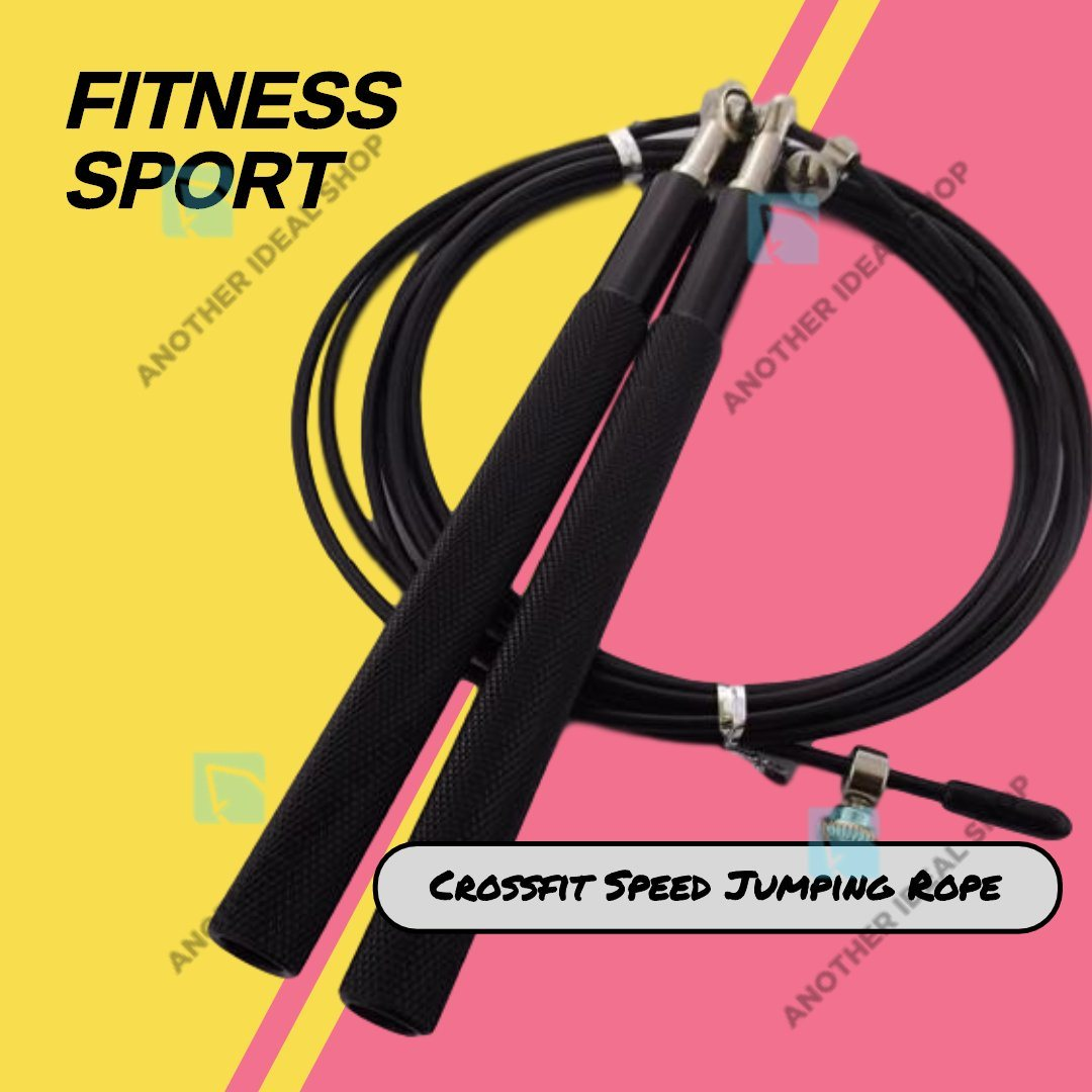 Crossfit Speed Jumping Rope Jump Ropes Ride Force Official Store Black