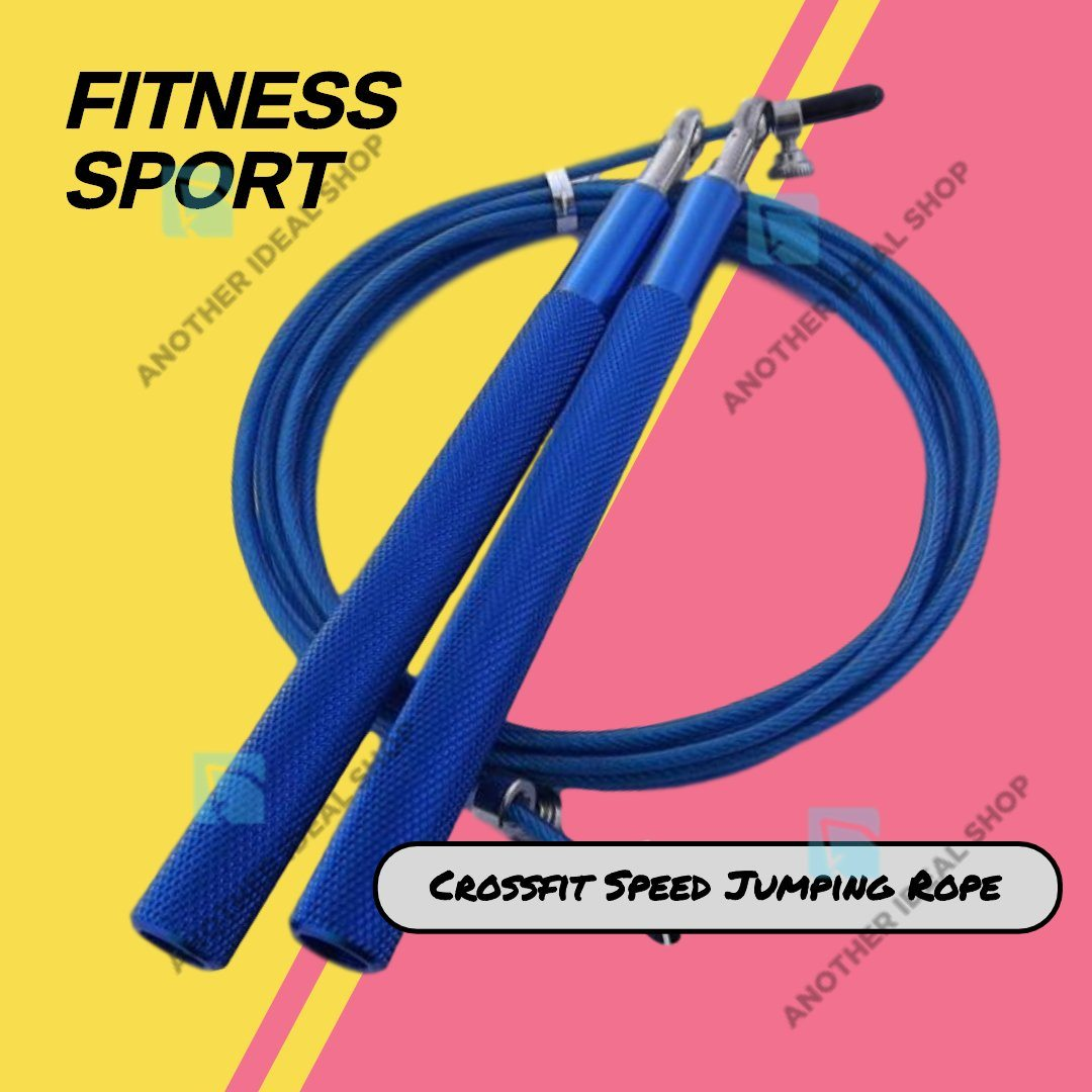 Crossfit Speed Jumping Rope Jump Ropes Ride Force Official Store Blue