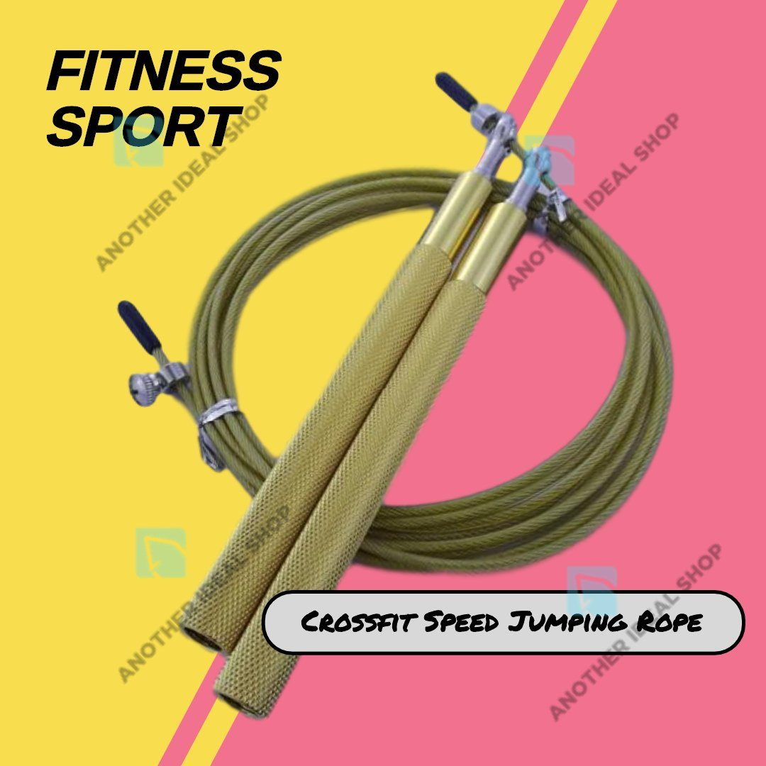 Crossfit Speed Jumping Rope Jump Ropes Ride Force Official Store Gold