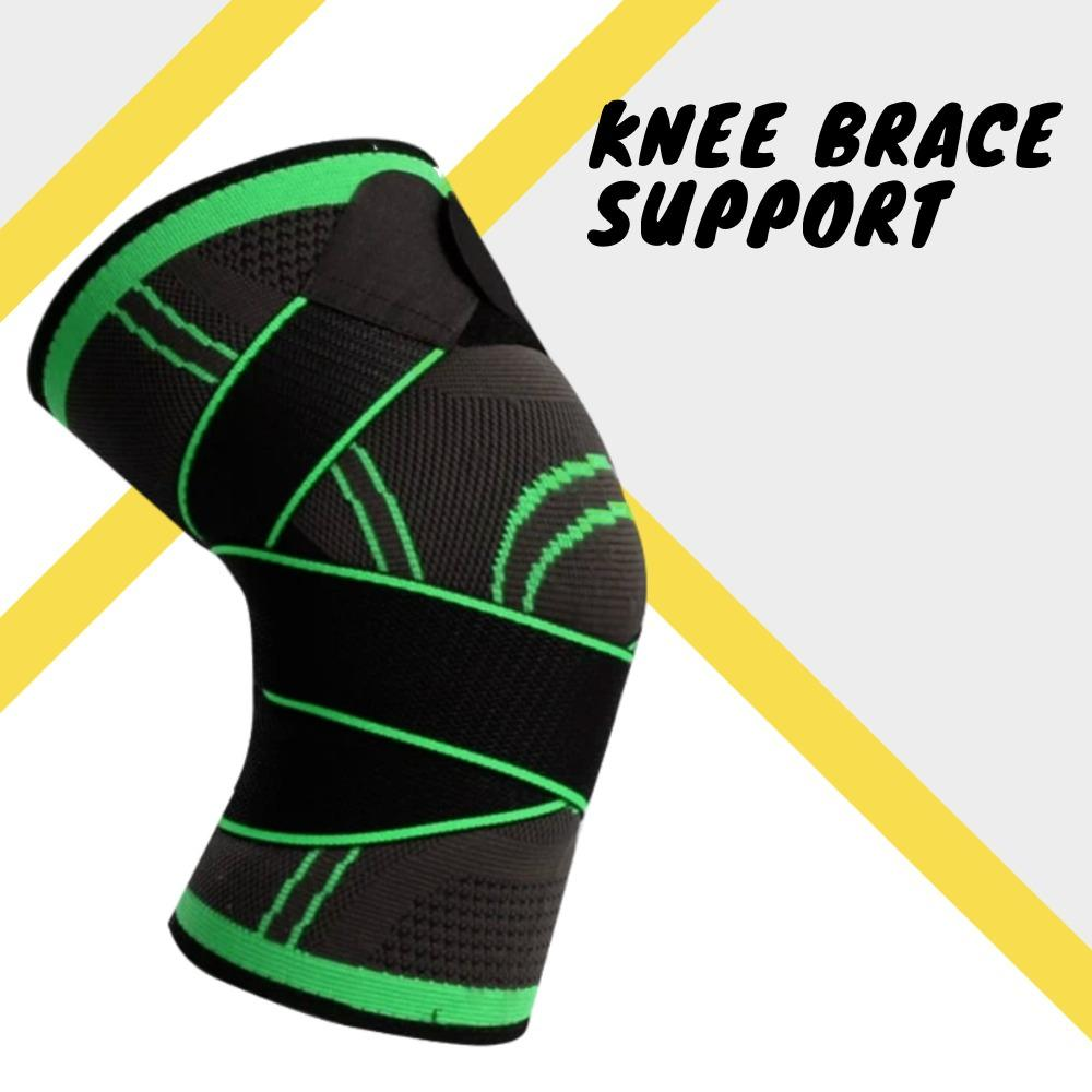 Knee Brace Support Elbow & Knee Pads WorthWhile Official Store S GREEN