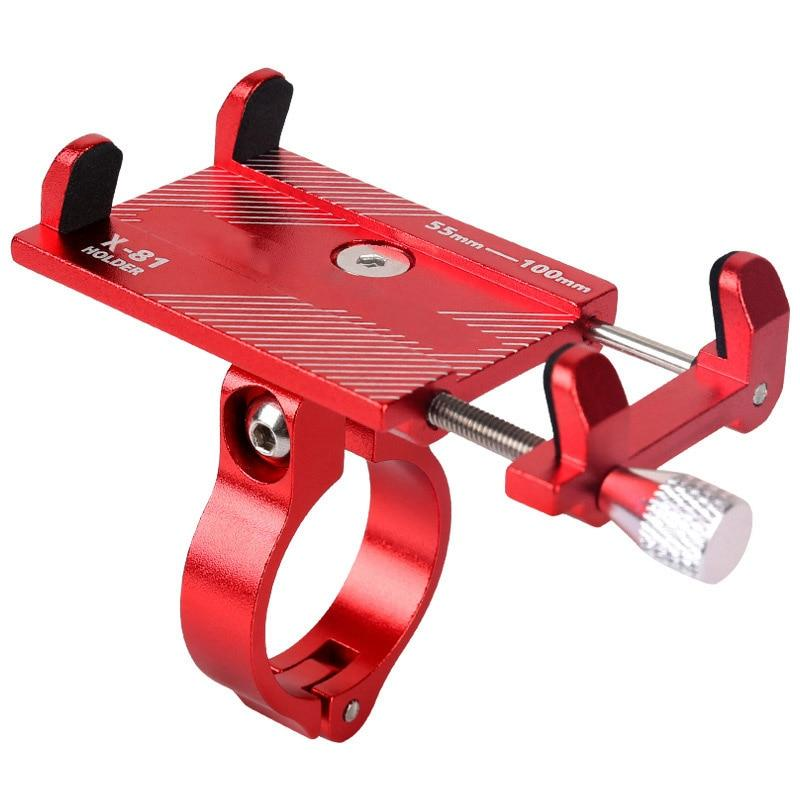 Adjustable iPhone Bike Mount Bicycle Rack Beauty Life Red