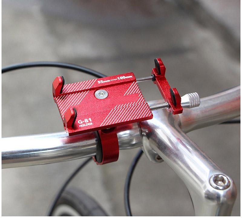 Adjustable iPhone Bike Mount Bicycle Rack Beauty Life