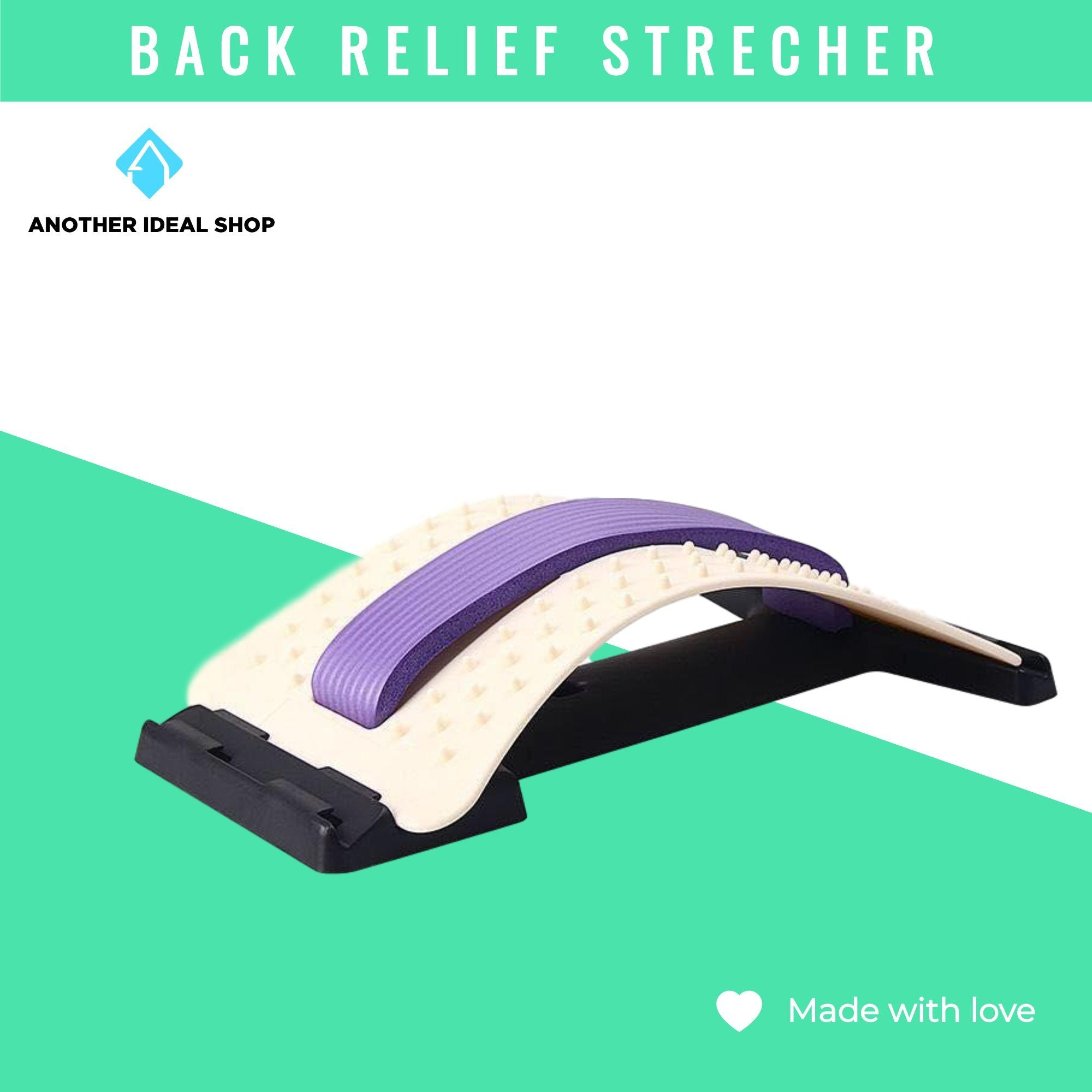 Lumbar Disc Herniation Traction Device Another Ideal Shop Purple-White