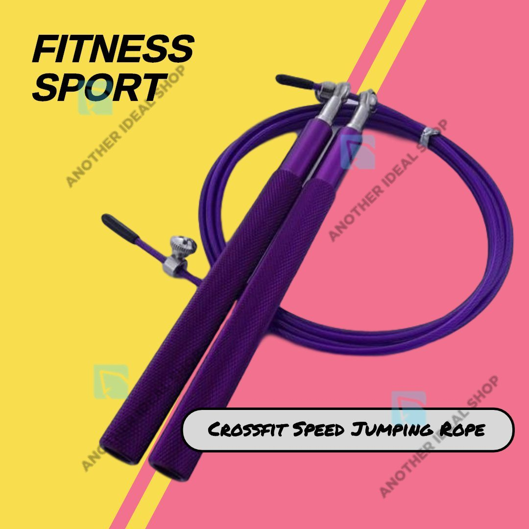 Crossfit Speed Jumping Rope Jump Ropes Ride Force Official Store Purple