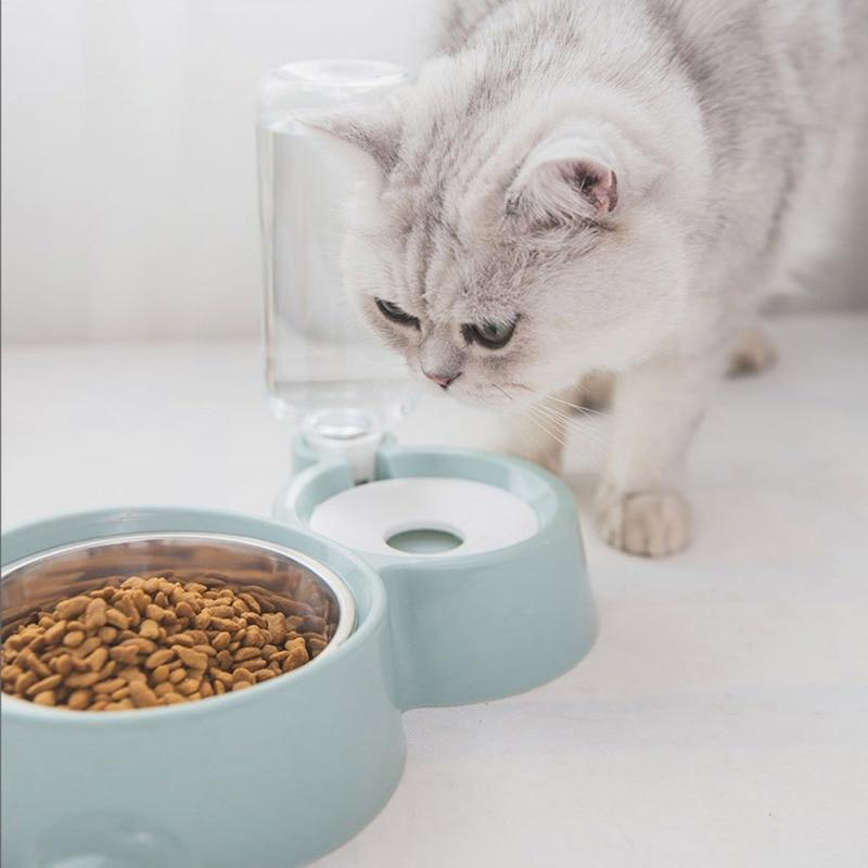 2-in-1 Automatic Water Dispenser Feeder Cat Feeding & Watering Supplies Surprising World Store