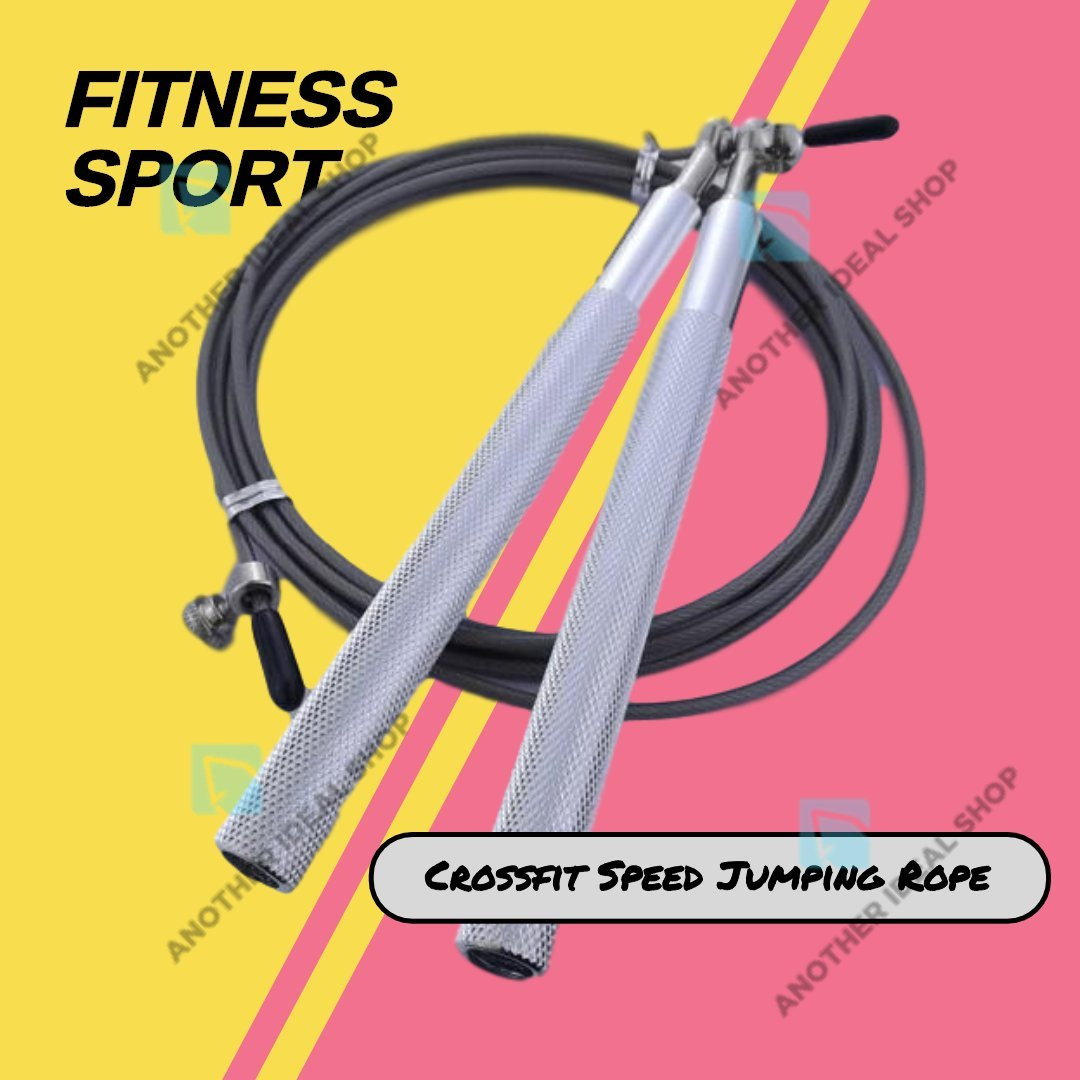 Crossfit Speed Jumping Rope Jump Ropes Ride Force Official Store Silver