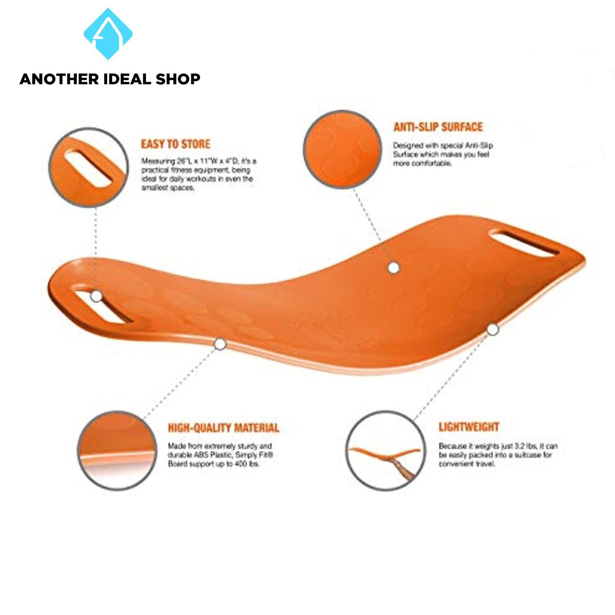 Fitness Balancing Board Other Exercise & Fitness Products Brand: Simply Fit