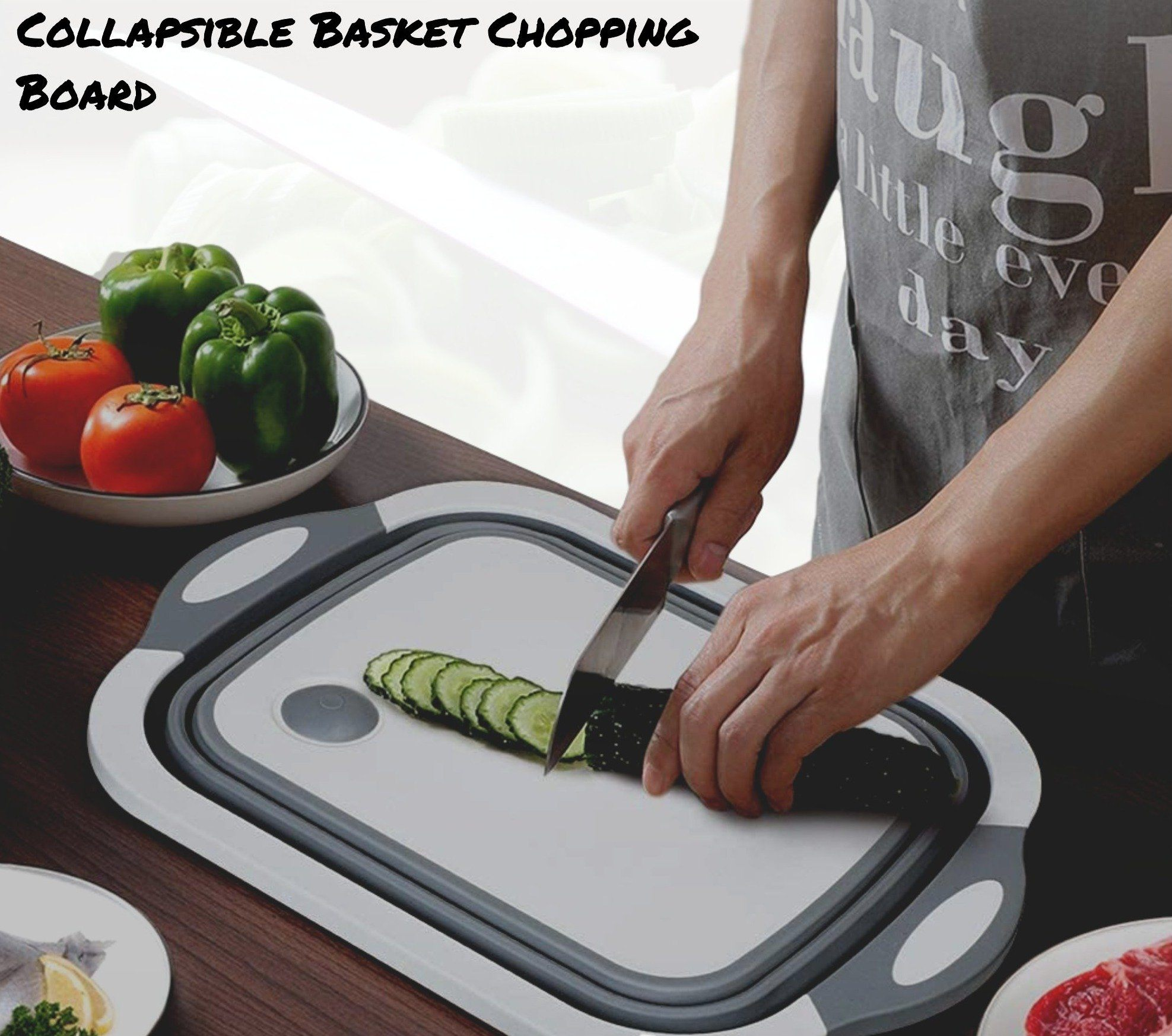 Collapsible Basket Chopping Board Another Ideal Shop