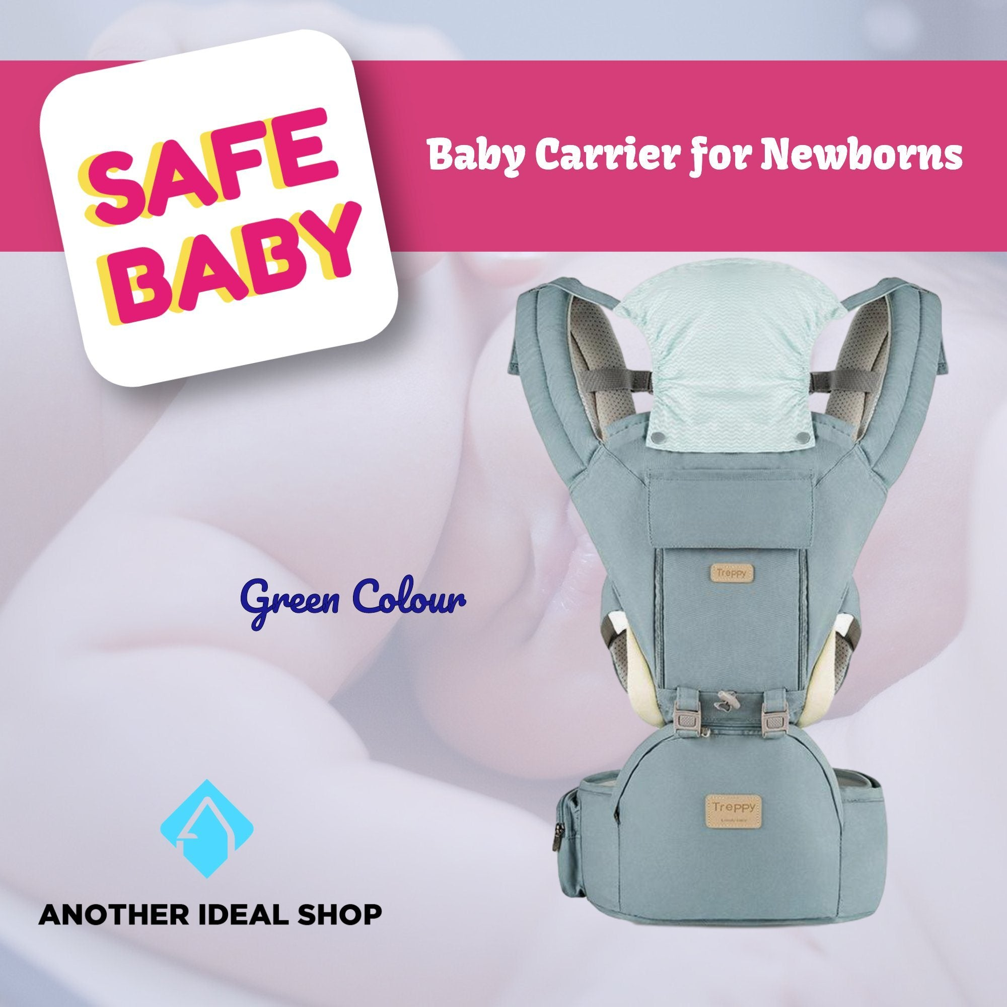 The Unique Baby Carrier Another Ideal Shop Green