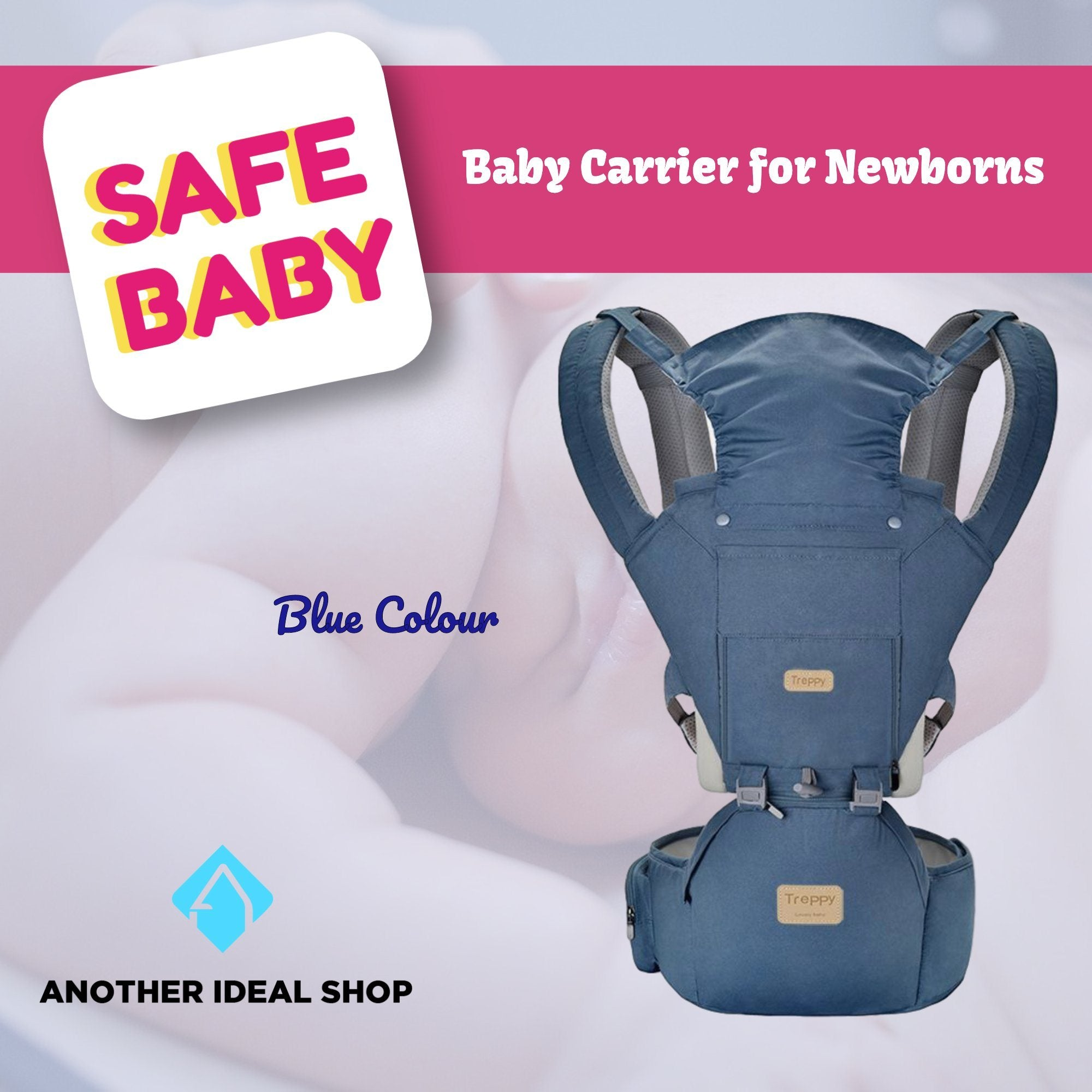 The Unique Baby Carrier Another Ideal Shop Blue