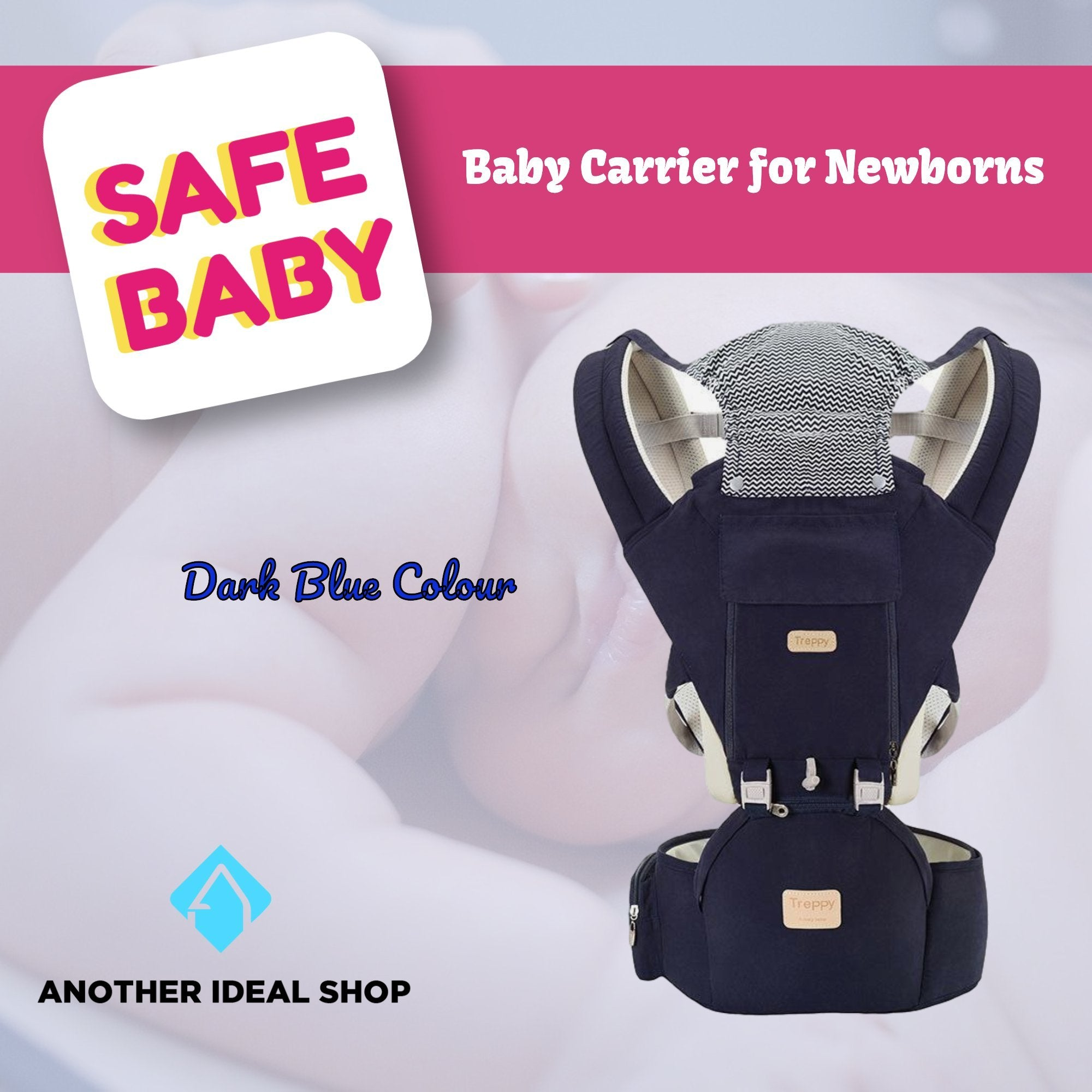 The Unique Baby Carrier Another Ideal Shop Dark Blue