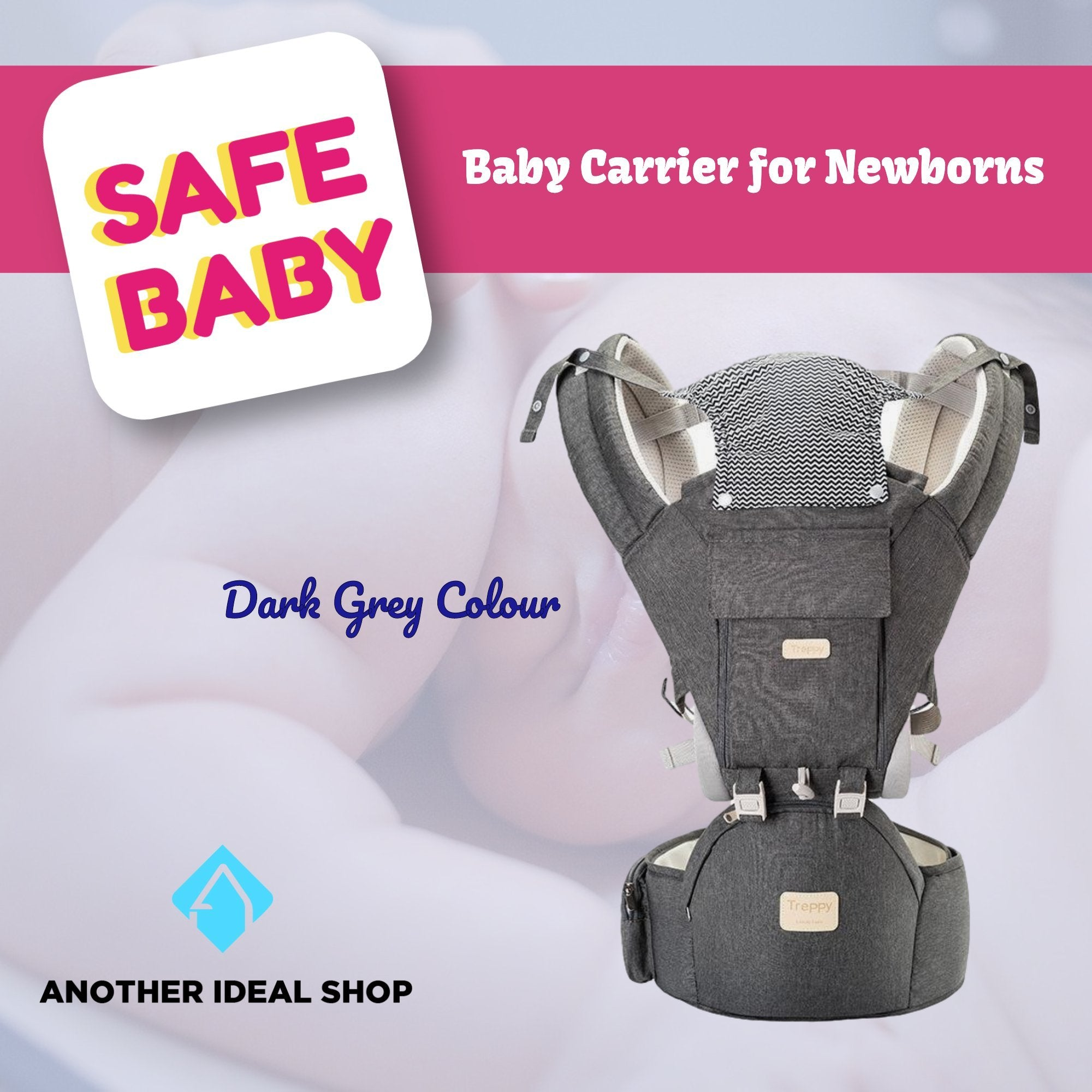 The Unique Baby Carrier Another Ideal Shop Dark Grey