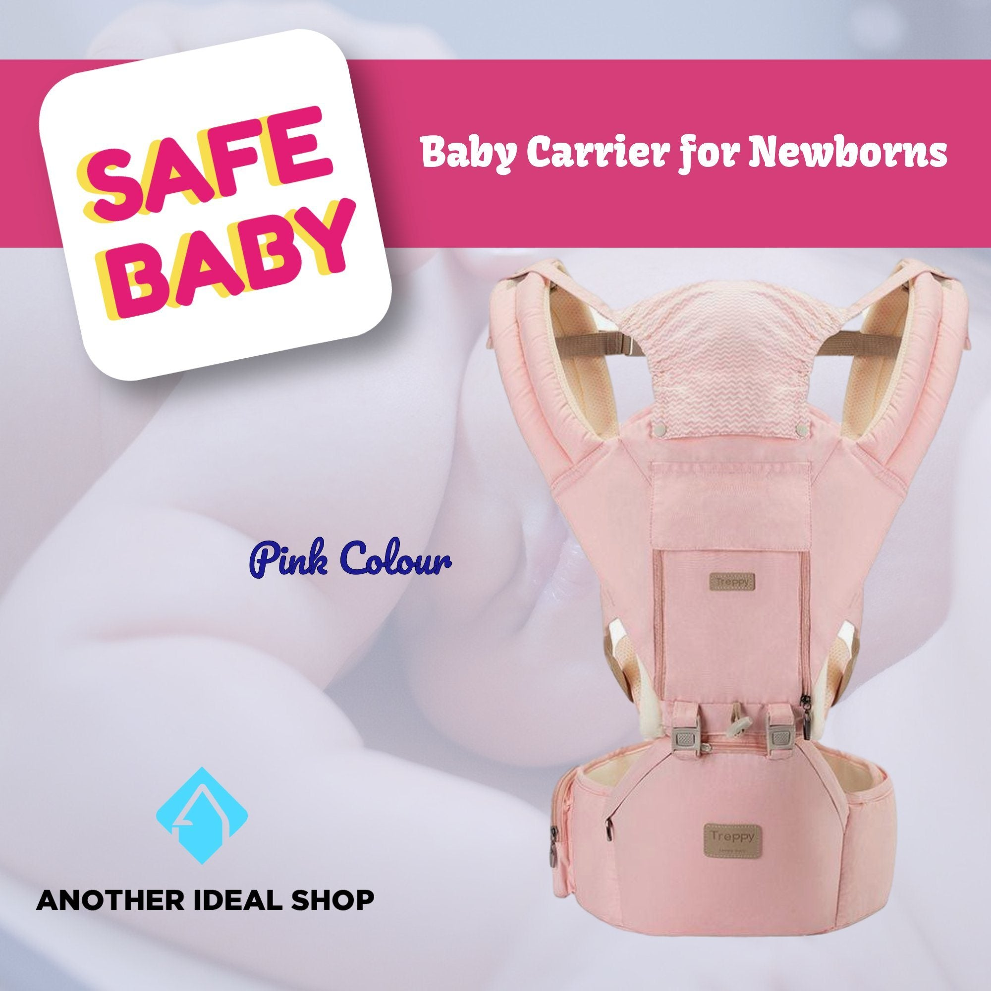 The Unique Baby Carrier Another Ideal Shop Pink