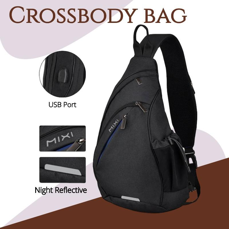 Cycling Crossbody Bag Another Ideal Shop Black 19 inches