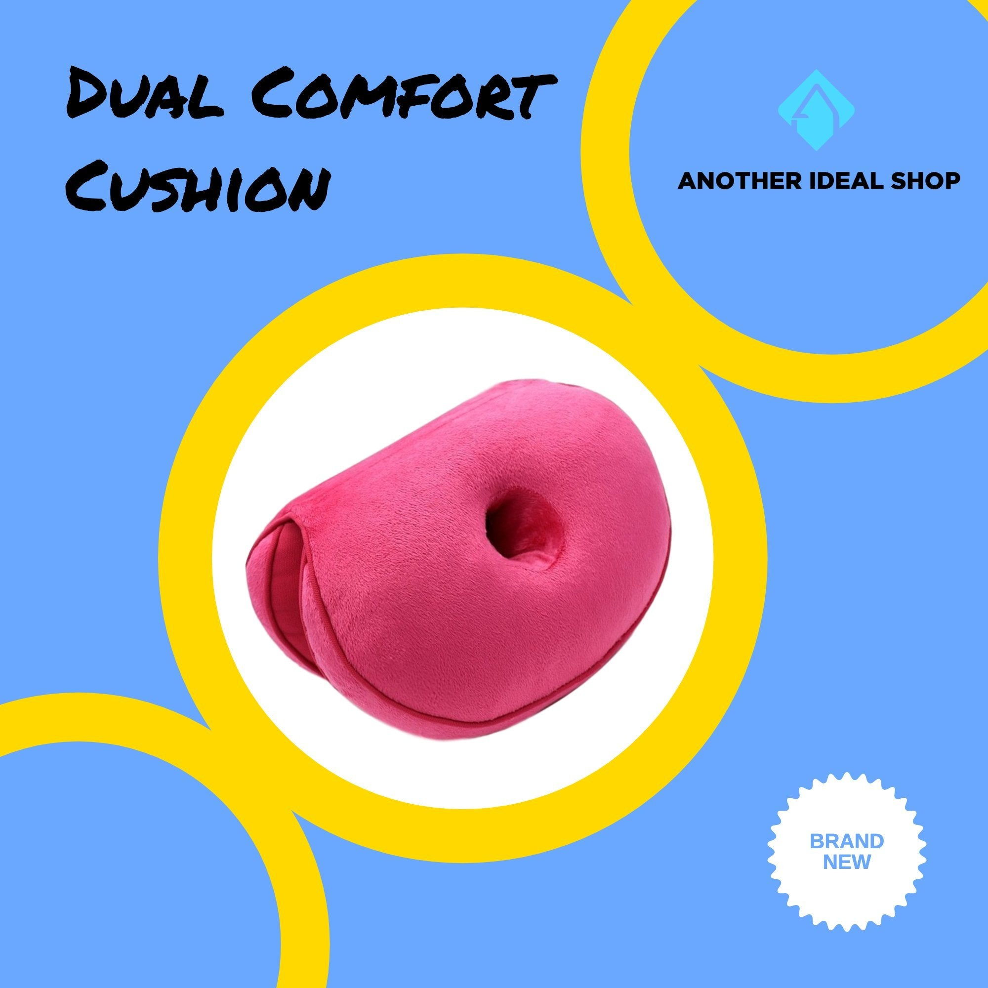 Dual Comfort Cushion my products AODMUKI Official Store Rose Pink