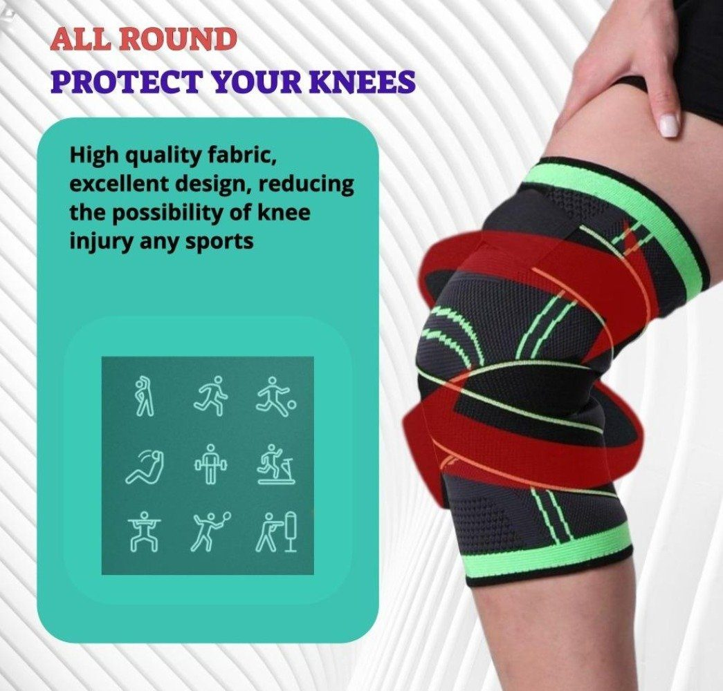 Knee Brace Support Elbow & Knee Pads WorthWhile Official Store