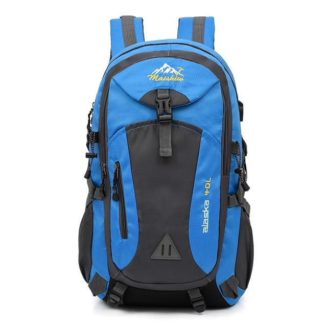 Waterproof Outdoor Backpack Another Ideal Shop Blue