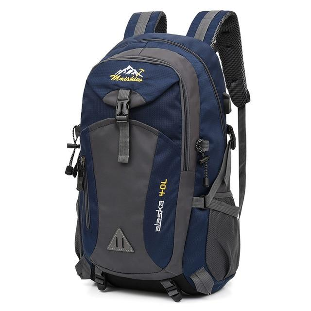 Waterproof Outdoor Backpack Another Ideal Shop Deep blue