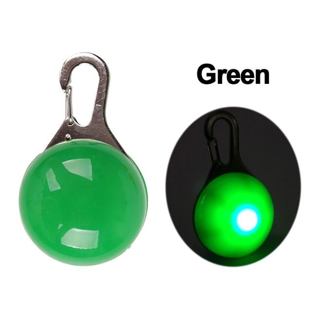 Safety Night Pet Collar Another Ideal Shop Pendant-Green S