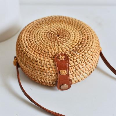 Woven Rattan Beach Bag Another Ideal Shop 2