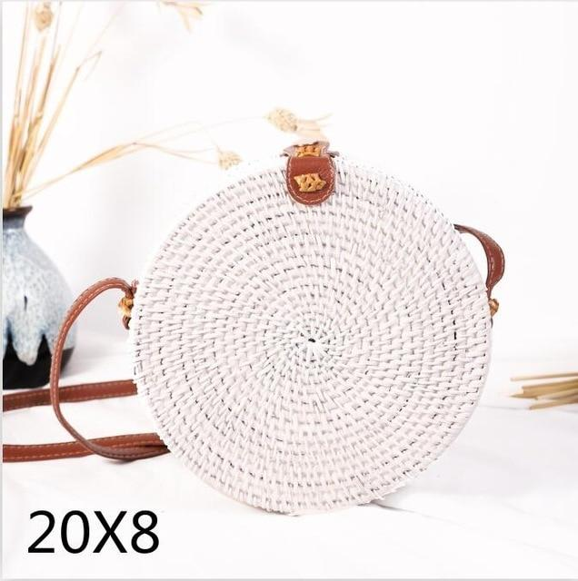 Woven Rattan Beach Bag Another Ideal Shop 12