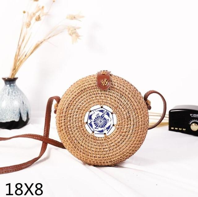 Woven Rattan Beach Bag Another Ideal Shop 24