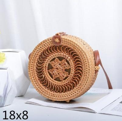 Woven Rattan Beach Bag Another Ideal Shop 25