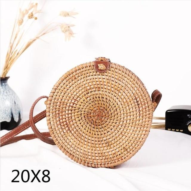 Woven Rattan Beach Bag Another Ideal Shop 30
