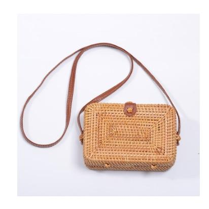 Woven Rattan Beach Bag Another Ideal Shop 5
