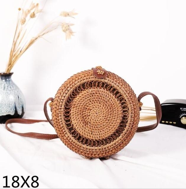Woven Rattan Beach Bag Another Ideal Shop 41