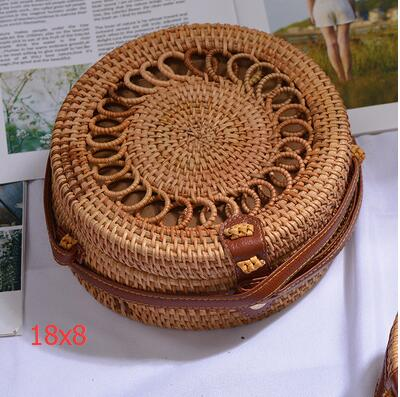 Woven Rattan Beach Bag Another Ideal Shop 43