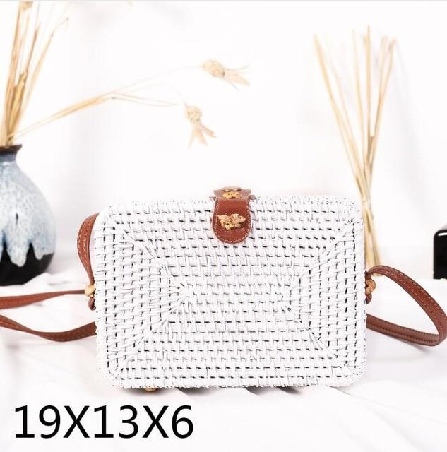 Woven Rattan Beach Bag Another Ideal Shop 9