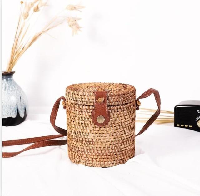 Woven Rattan Beach Bag Another Ideal Shop 14