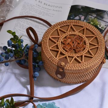 Woven Rattan Beach Bag Another Ideal Shop 47