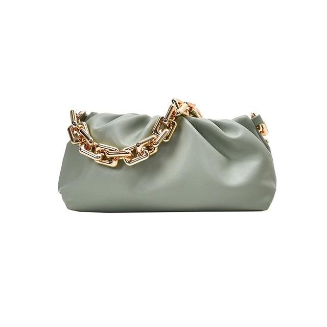 Chain Handle Hobo Bag Another Ideal Shop New Green