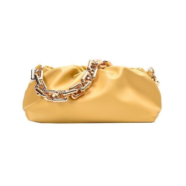 Chain Handle Hobo Bag Another Ideal Shop New Yellow