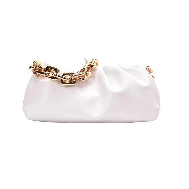 Chain Handle Hobo Bag Another Ideal Shop New White