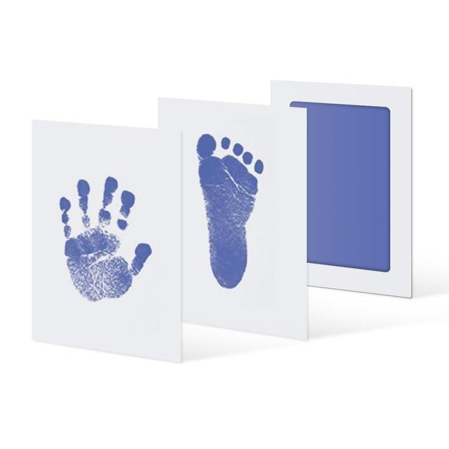 Inkless Hand and Footprint Kit Another Ideal Shop Light Blue