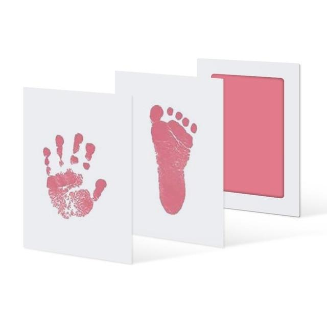 Inkless Hand and Footprint Kit Another Ideal Shop Pink