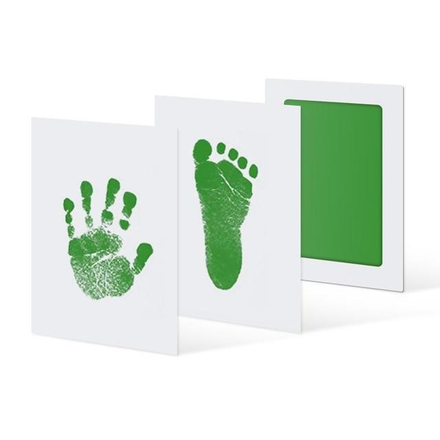 Inkless Hand and Footprint Kit Another Ideal Shop Green