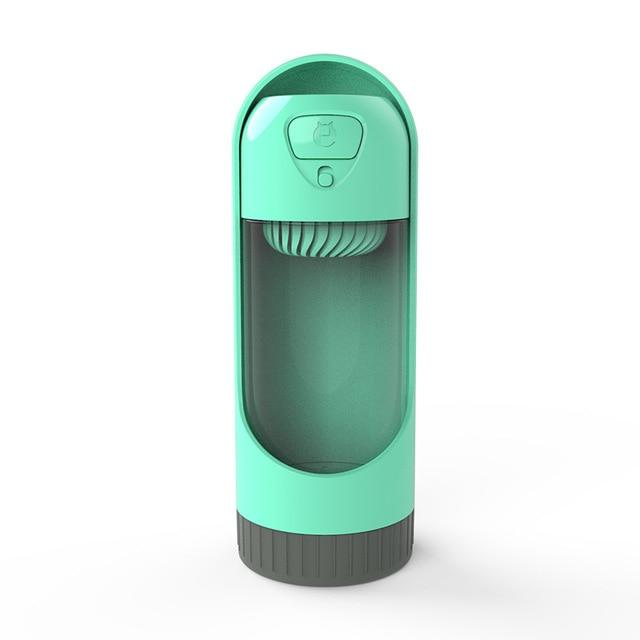 Portable Pet Water Bottle Another Ideal Shop Green with a filter