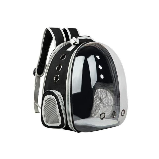 Portable Cat Carrier Capsule Another Ideal Shop Gray