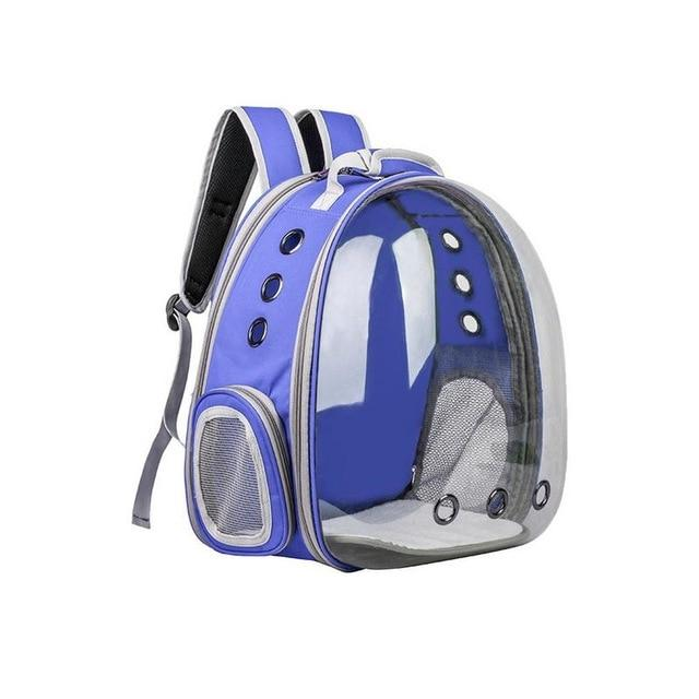 Portable Cat Carrier Capsule Another Ideal Shop Blue