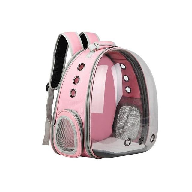 Portable Cat Carrier Capsule Another Ideal Shop Pink