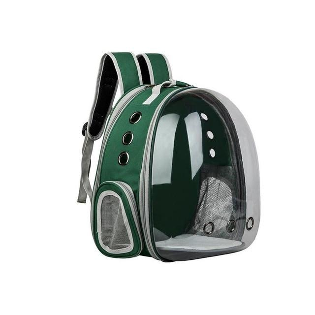 Portable Cat Carrier Capsule Another Ideal Shop Green